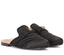 Slippers Princetown aus Satin