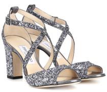 Sandalen Carrie 85 mit Glitter
