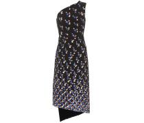 Asymettrisches Kleid Cady aus Crêpe