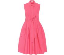 Ärmelloses Kleid aus Baumwolle
