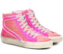 High-Top-Sneakers Slide