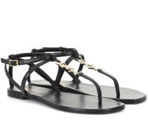 Sandalen Nu Pieds 05 aus Leder