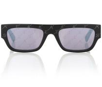 Eckige Sonnenbrille Monogram