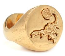 Vergoldeter Ring Hybrid