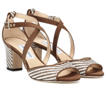 Sandalen Carrie 65 aus Bast