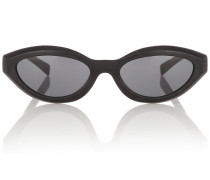 X Alain Mikli ovale Sonnenbrille