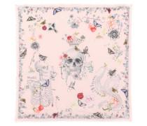 Alexander McQueen Bedruckter Schal mit Wollanteil
