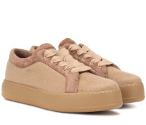 Sneakers aus Cashmere
