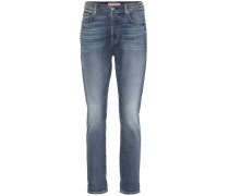 High-Rise Cropped Jeans Josefina
