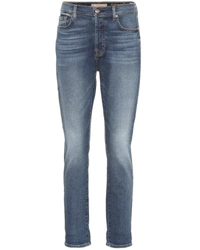 High-Rise Cropped Jeans Josefina