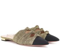 Slippers Mondaine mit Glitter