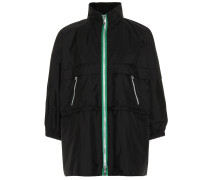 Jacke aus Nylon-Gabardine