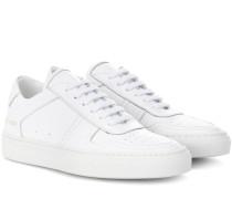 Sneakers Bball aus Leder