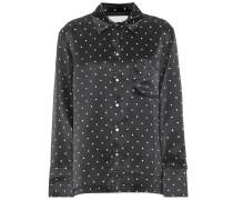 Pyjama-Oberteil aus Seide