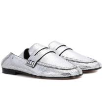 Slippers Fezzy aus Leder