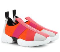 Sneakers mit Veloursleder