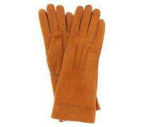 Handschuhe Yupiks aus Leder