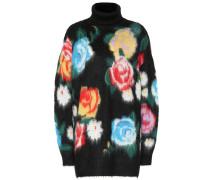 Pullover aus einem Mohairwollgemisch