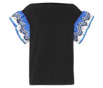 T-Shirt aus Baumwolle und Seide
