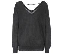 Pullover aus Mohair und Wolle