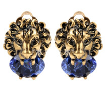 Clip-Ohrringe mit Kristallstein