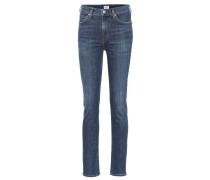 High-Rise Skinny Jeans Harlow aus Baumwolle
