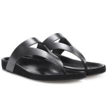 Flip-Flops Elbry aus Leder