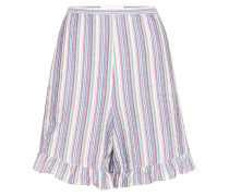 Shorts aus Stretch-Baumwolle