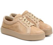 Sneakers Tamina aus Veloursleder