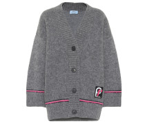 Oversize Cardigan aus Wolle