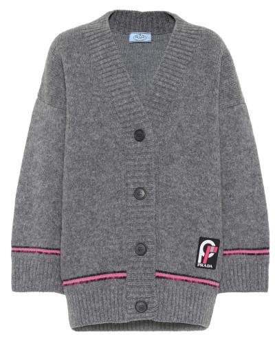 Oversize Cardigan aus Wolle
