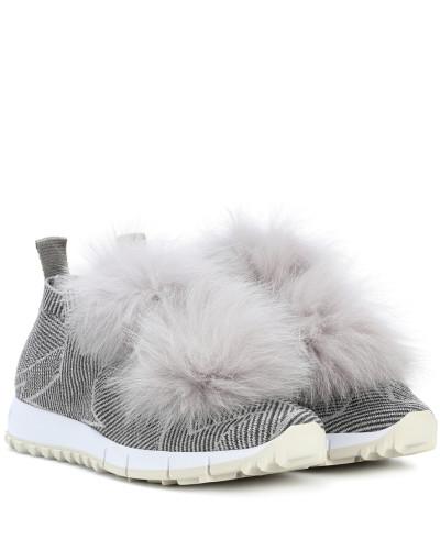 Sneakers Norway mit Fell