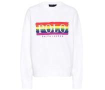 Sweatshirt aus einem Baumwollgemisch