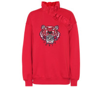 Sweatshirt Tiger mit Stickerei
