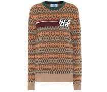 76f6c17816ba6 Pullover aus Kaschmir und Wolle. Prada