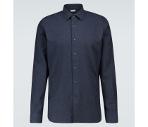 Slim-Fit-Hemd aus Baumwolle