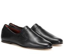 Loafers Canebiers aus Leder