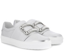 Sneakers Sneaky Viv' aus Metallic-Leder