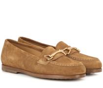 Loafers Daisy aus Veloursleder