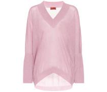 Pullover mit Metallicfäden