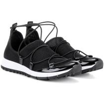 Sneakers Andrea mit Lackleder