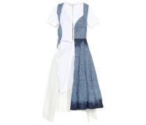 Kleid aus Denim und Tüll