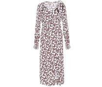 Midi-Kleid mit Blumenprint