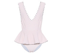 French Gramercy gingham swimsuit