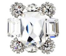 Clip-Ohrringe Diana mit Kristallen