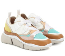 Sneakers Sonnie mit Leder