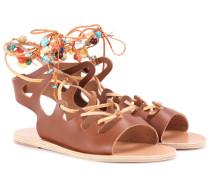 Sandalen Antigone aus Leder