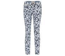 Bedruckte Jeans aus Baumwolle