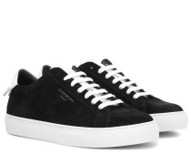 Sneakers Urban Knots aus Veloursleder