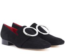 Loafers Harput aus Veloursleder